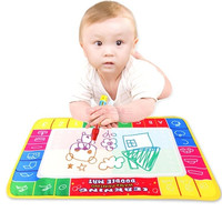 Water Drawing Painting Writing Board Play Mat Magic Pen 45X29cm Kids Toys 19383 Baby = 1652444612