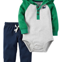 2-Piece Babysoft Bodysuit Pant Set