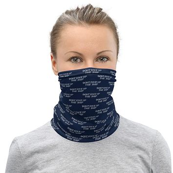 Don't Give Up The Ship Commodore Perry Neck Gaiter