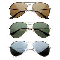 Premium Aviator Essentials Sunglasses