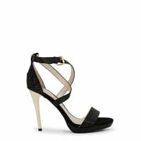 Versace Jeans Women Black Sandals