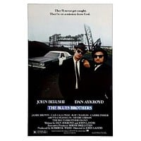 Blues Brothers Movie poster 11inx17in