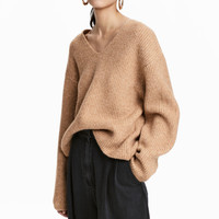 Wide-cut Sweater - from H&M