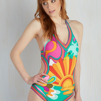 Sea Willikers! One-Piece Swimsuit | Mod Retro Vintage Bathing Suits | ModCloth.com