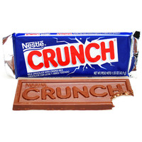 Nestle Crunch Candy Bars: 36-Piece Box