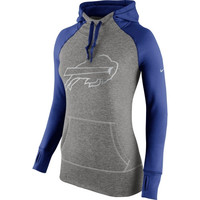 Buffalo Bills Nike Women's Platinum All Time Performance Hoodie – Charcoal