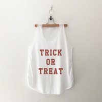 Trick or treat Halloween T-Shirt womens girls teens unisex grunge tumblr instagram blogger punk hipster outfits gifts merch