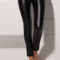 Lolly Faux Leather Pants