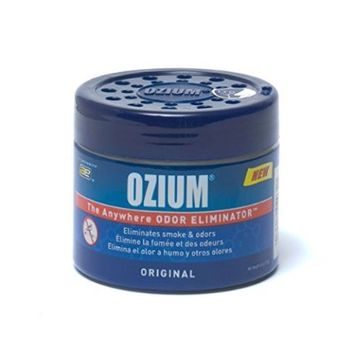Ozium Smoke & Odors Eliminator Gel. Home, Office and Car Air Freshener 4.5oz (127g), Original Scent Size: Single