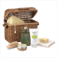 Healing Spa Bath Gift Basket