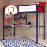 Powell Hoops Basketball Bed  Bunk Bed