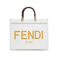 Fendi simple women's shopping bag handbag
