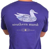 Authentic Kentucky Heritage Tee in Indigo by Southern Marsh