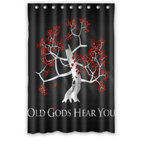 Design Game Of Thrones Printed Shower Curtain 48x72 inches High quality Waterproof