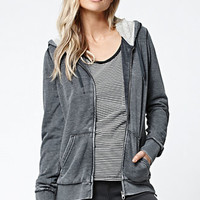 Volcom Lived In Faux Sherpa Zip-Up Hoodie at PacSun.com