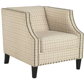 Kieran Accent Chair  - Cream