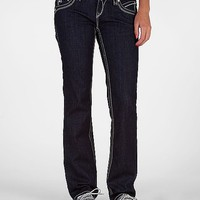 Rock Revival Heather Easy Straight Stretch Jean