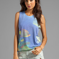 Local Celebrity Muscle Tee in Tropical Fish from REVOLVEclothing.com