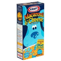 Kraft Macaroni & Cheese Blues Clues Shapes, 5.5-Ounce Boxes (Pack of 24)