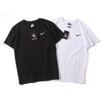 """Nike""Fashion loose leisure round neck T-shirt"