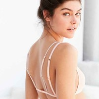 Out From Under Patitz Shirred Triangle Bralette