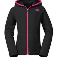 The North Face Girls' Tops GIRLS' GLACIER FULL ZIP HOODIE