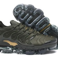 Air VaporMax TN 2018 Plus Army Green/Gold Sport Shoe 40-45