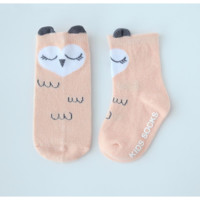Sleepy Owl Socks