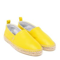 LOEWE | Leather Espadrilles | brownsfashion.com | The Finest Edit of Luxury Fashion | Clothes, Shoes, Bags and Accessories for Men & Women