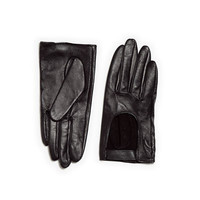 LEATHER GLOVE WITH CUT-OUT FRONT