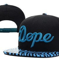 Perfect Dope Shit Floral Snapback hats Women Men Embroidery Sports Sun Hat Baseball Cap Hat