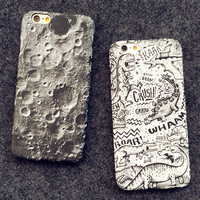 Moon Case Cover for iPhone 5s 6 6s Plus Gift-150