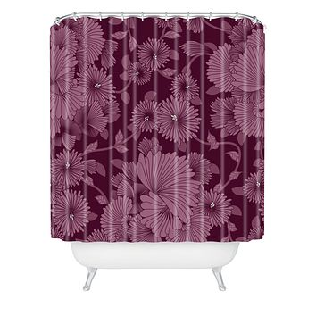 Sabine Reinhart Nocturnal 2 Shower Curtain