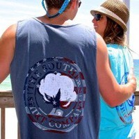 Southern Shirt Company America Tanks | Southern Class Clothiers - Southern Class Clothing