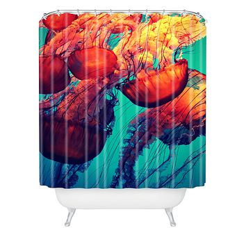 Krista Glavich Jellyfish 7 Shower Curtain