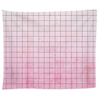 Pink Geometry Tapestry