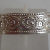 Silver Celtic design ring ready to ship size Z or 12