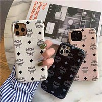 MCM iPhone 7/8/X/11/12 mobile phone case protective cover