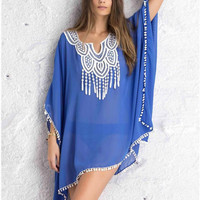 Sexy Women Summer Boho Maxi Evening Party Dress Beach Dress Sundress Mini Dress = 4904732484
