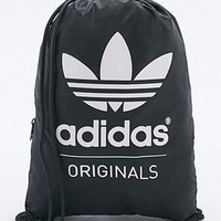 adidas Originals Black Drawstring Backpack - Urban Outfitters