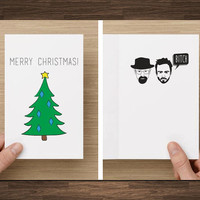 Funny Christmas Card Breaking Bad Merry Christmas Bitch! boyfriend girlfriend boss husband wife