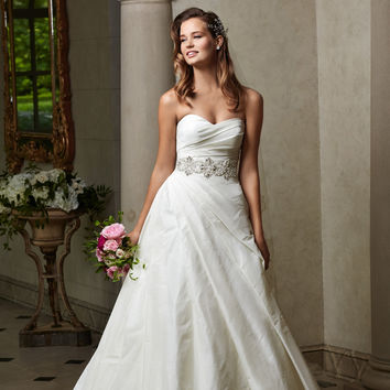 Wtoo by Watters 14414 Strapless Bridal Gown