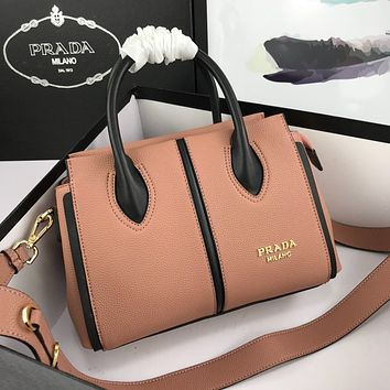 prada newest popular women leather handbag tote crossbody shoulder bag satchel 71