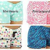 Cute Cotton Pajama Shorts in 7 Different Styles S-XL