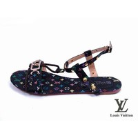 Louis Vuitton Women Flats Sandals Shoes-8