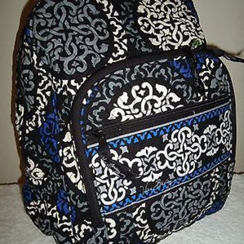 Vera Bradley Campus Backpack Canterberry Cobalt (With defects)