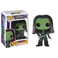 Funko POP! Guardians of the Galaxy Movie - Vinyl Bobble - GAMORA (Pre-Order ships July): BBToyStore.com - Toys, Plush, Trading Cards, Action Figures & Games online retail store shop sale