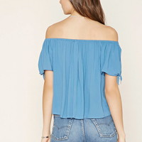 Contemporary Self-Tie Top | Forever 21 - 2000177896