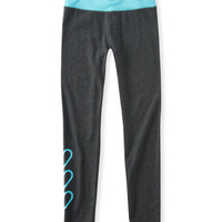 PS from Aero  Kids' Triple Heart Activate Yoga Leggings