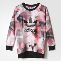 adidas Allover Print Pullover - Red   adidas US